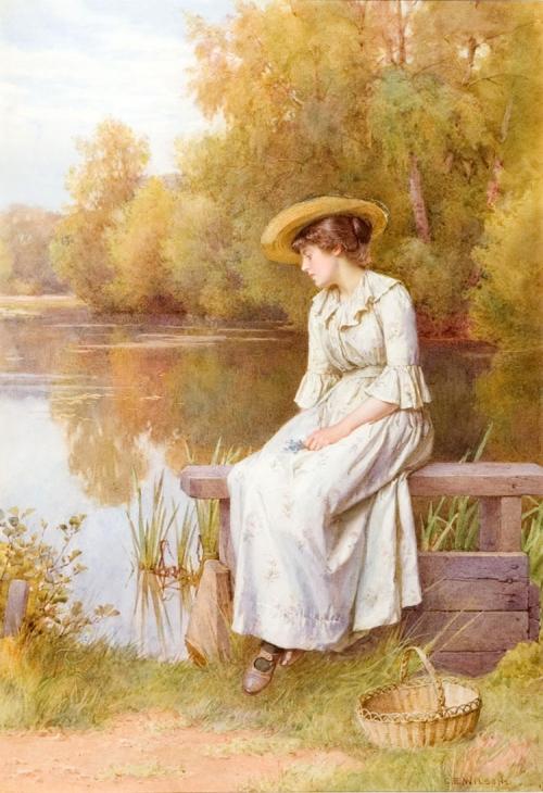 Английский художник Charles Edward Wilson (1854-1941) (50 работ)