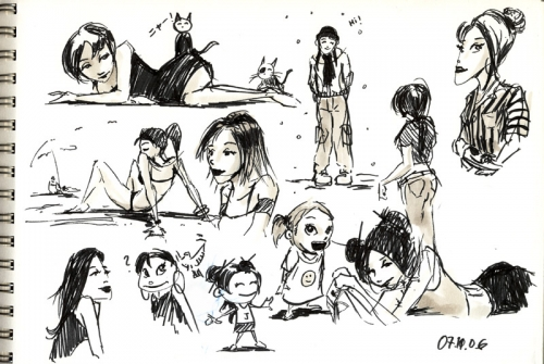 Художник-аниматор Goro Fujita (309 работ)