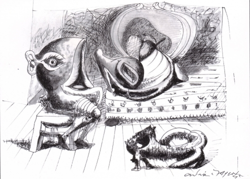 Xxe andre masson 195 3 for A travers le miroir
