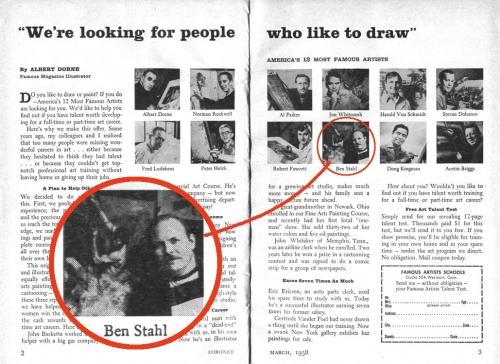 Забытые иллюстраторы - Ben Stahl (73 работ)