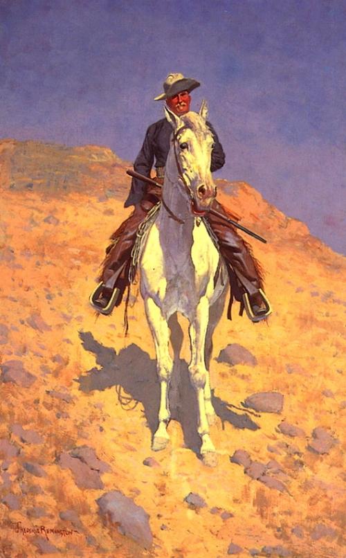 Художник Frederick Remington (94 работ)