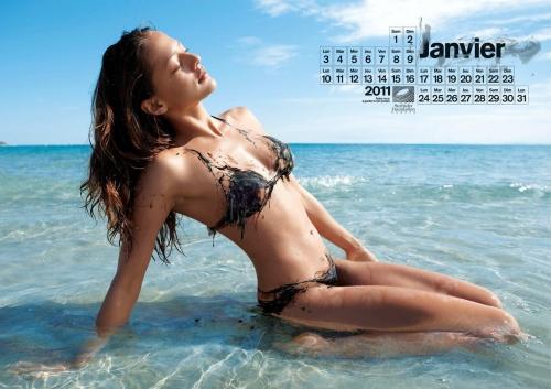Нефтяной эротический календарь Surfrider Foundation 2011 (15 фото) (эротика)