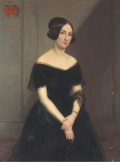 Французский живописец Claude-Marie Dubufe (1790-1864) (55 работ)