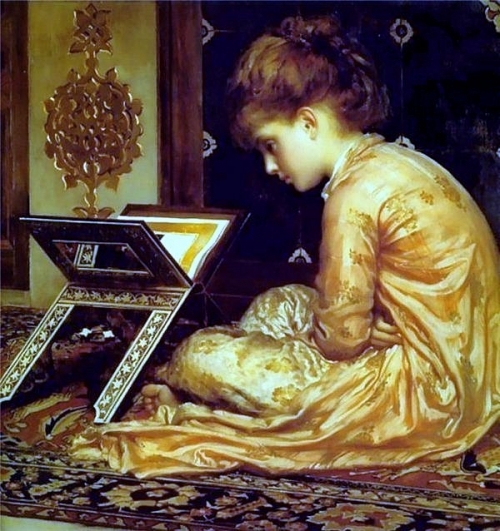 Детские образы в живописи. 3 часть (165 работ)