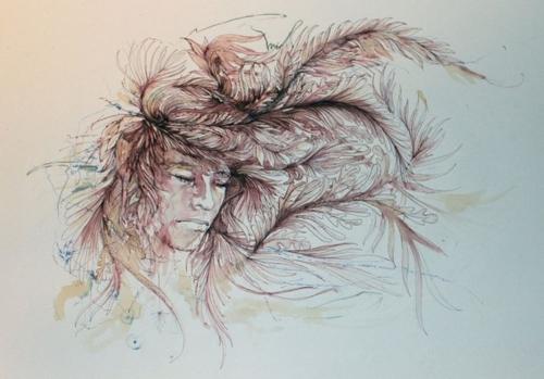 Английский художник Carne Griffiths (75 работ)