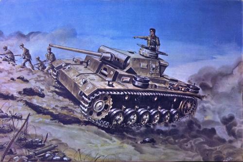 Иллюстрации к журналу Armor Series (12 работ)