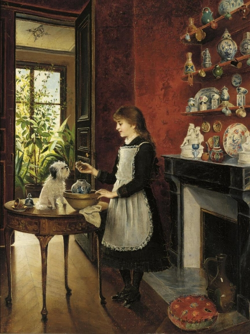 Albert Roosenboom (Belgian, 1845-1873) (41 работ)