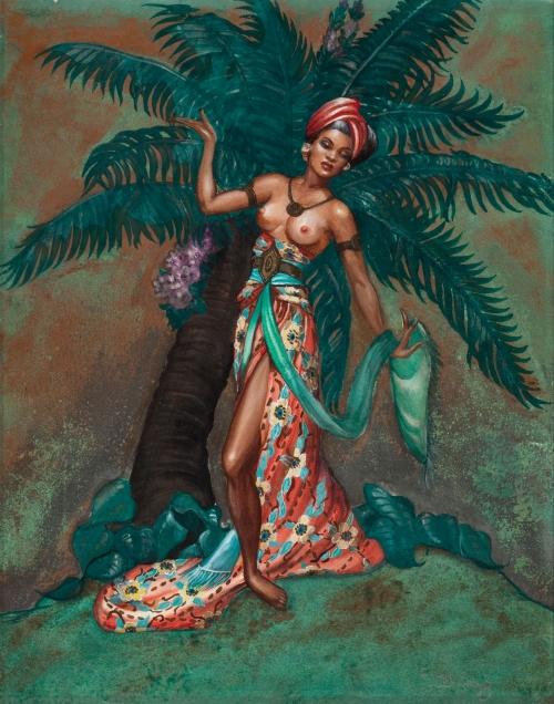 Художник-иллюстратор Margaret Brundage (42 работ)
