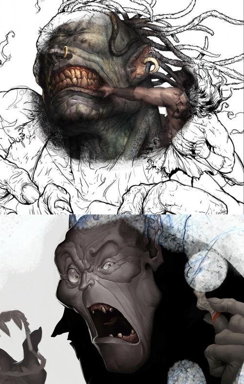 Художник Nеstor Ossandоn (41 работ)