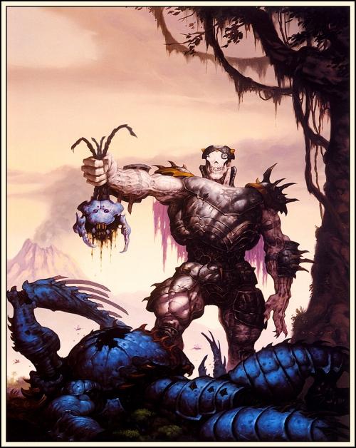 Готическое Фэнтези Джеральда Брома | Dark Fantasy Gerald Brom (877 работ) (2 часть)