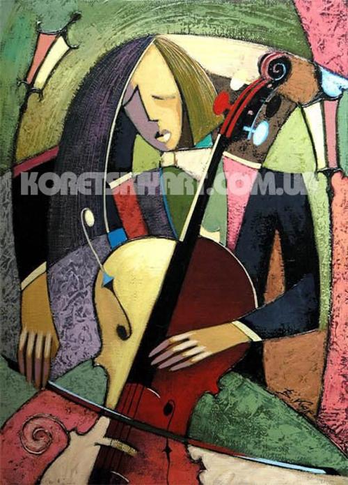 Современные художники - Вячеслав Корецкий (56 работ)