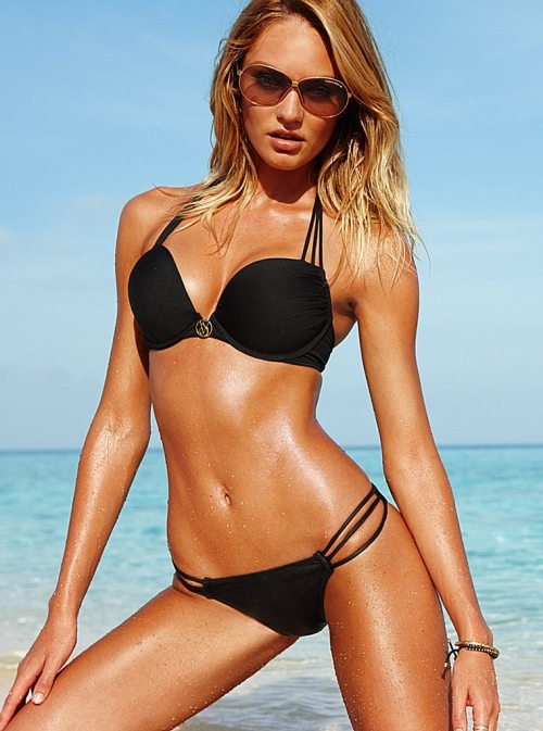 Candice Swanepoel – Victoria's Secret Bikini Photoshoot (38 фото) (эротика)