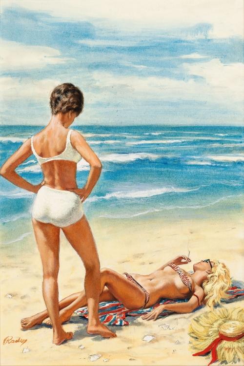 Американский художник и иллюстратор Paul Rader (52 работ)