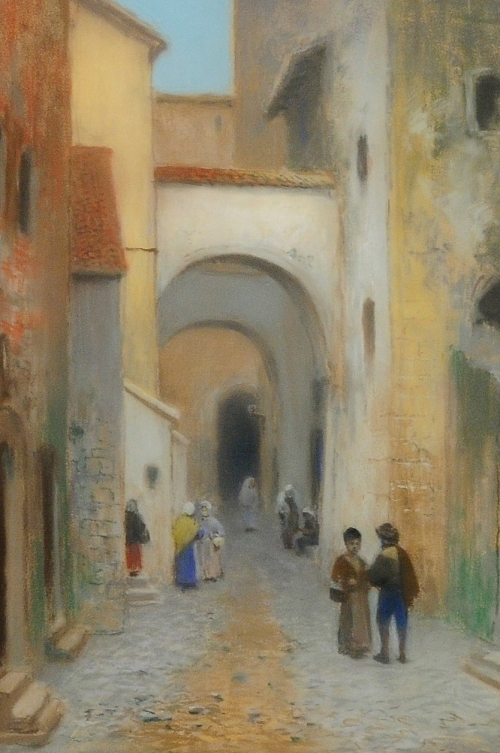 Шведский художник Frans Wilhelm Odelmark (1849-1937) (61 работ)
