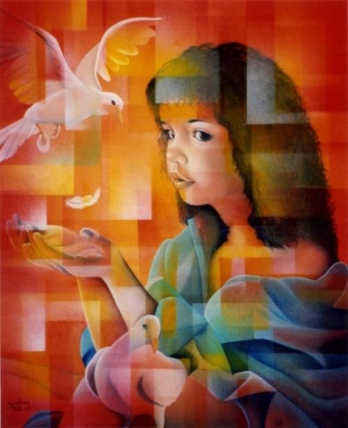 Радужный Pin-Up от Jeannette Guichard-Bunel (160 работ)
