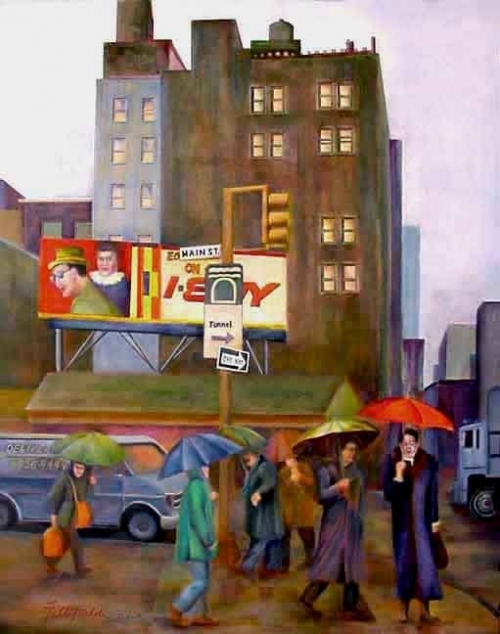 Lisa Fittipaldi - слепая художница (9 работ)