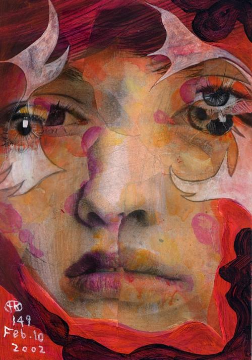 Арт-шок в лицах - Takahiro Kimura (40 работ)