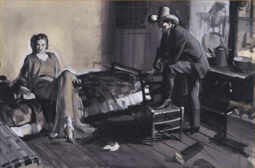 John Gannam Illustrations (1907-1965) (55 работ)