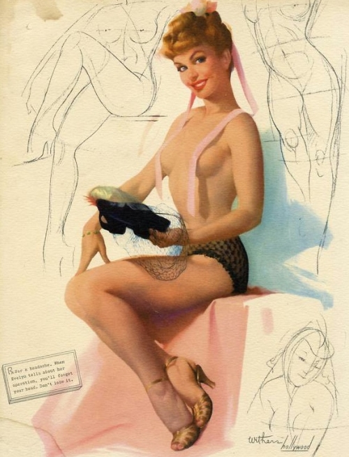 Pin-up Art by Ted Withers (1896 - 1964) (74 работ)