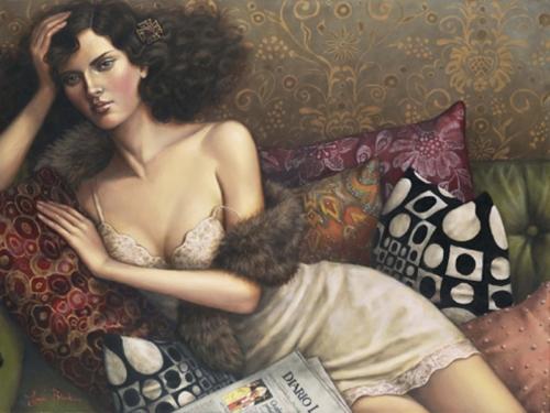 Художница Lauri Blank (63 работ)