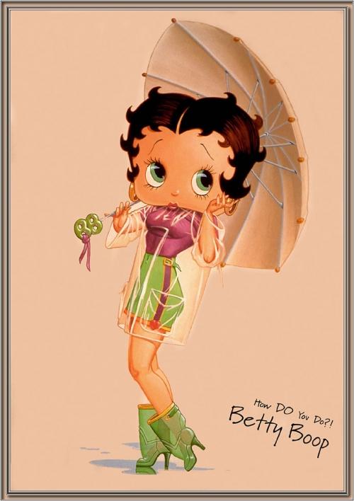 Betty Boop (Бети Буп) (130 работ)