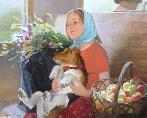 Художница Татьяна Дерий. Дополнение (100 работ)