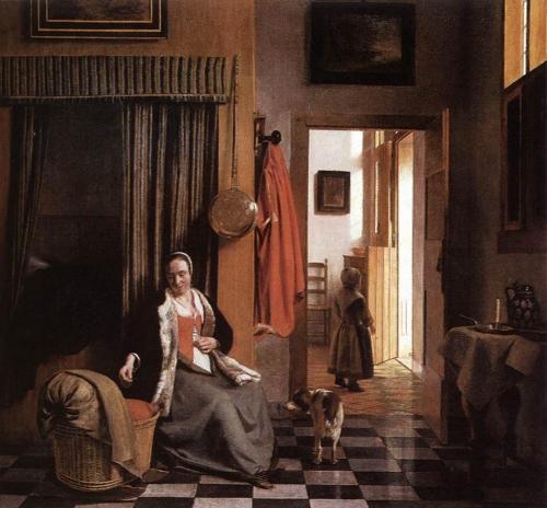 Художник Pieter De Hooch (51 работ)
