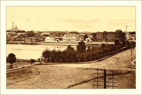 Старые фото городов. Екатеренбург (30 работ)