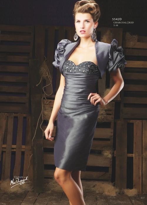 Вечернее платье по фигуре 9