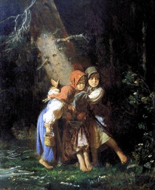 Детские образы в живописи. 1 часть (125 работ)