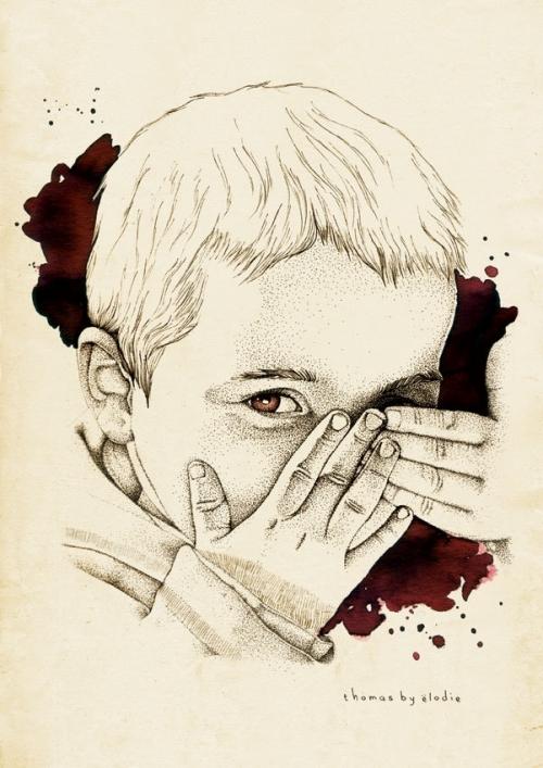 Женский взгляд: арт-рисунки Элоди (13 работ)