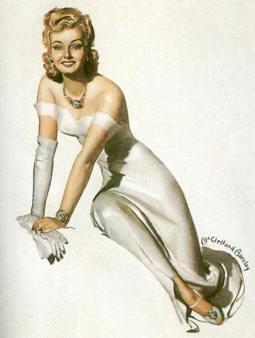Художник и иллюстратор McClelland Barclay (1891 - 1943) (127 работ)