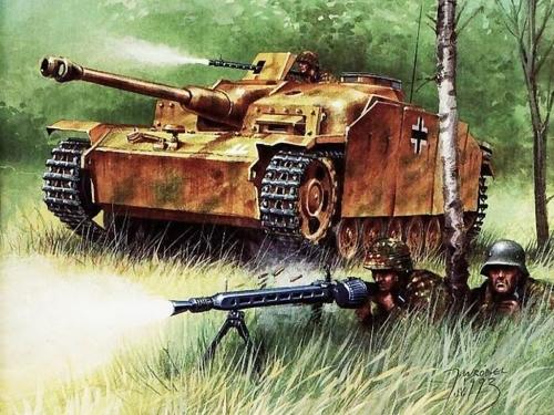 Иллюстрации к журналу Wydawnictwo Militaria (2) (30 работ)