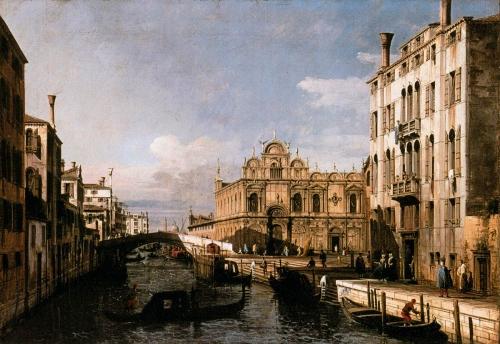Бернардо Белотто - итальянский художник, мастер городского пейзажа (35 работ)