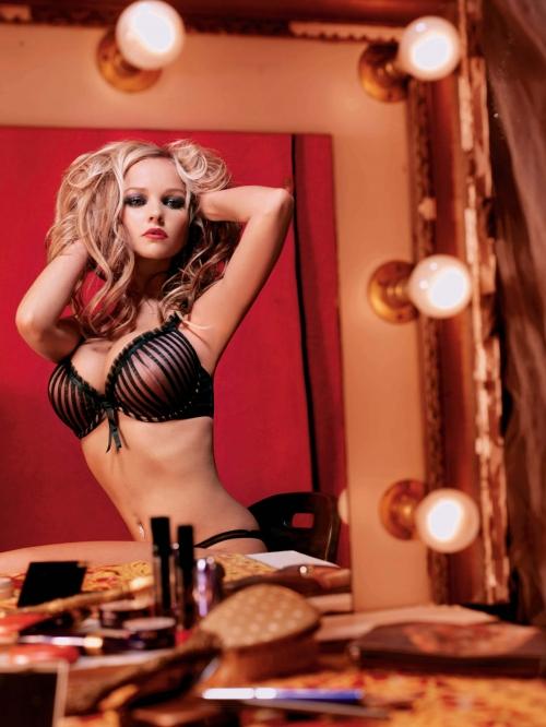 Jennifer Ellison - Circus Photoshoot (6 фото)