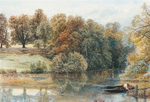Английский художник Myles Birket Foster (1825-1899) (244 работ)