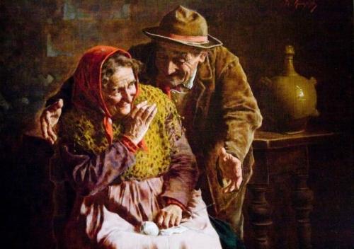 Итальянский художник Eugenio Eduardo Zampighi (1859-1944) (116 работ)