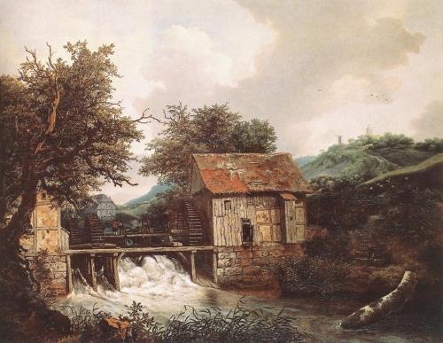 Соломон и Якоб ван Рёйсдал (77 работ)