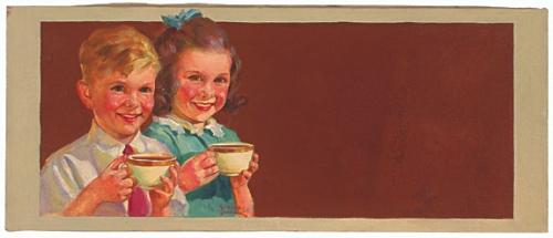 Американский художник и иллюстратор Russell Sambrook (1891-1956) (25 работ)