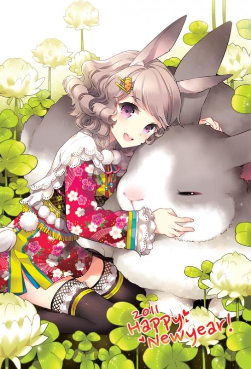 Арт мангака Nardack | Nardack artworks Butterfly Dream (57 работ)