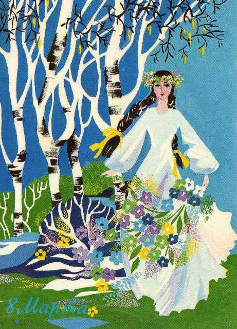 рисунки на тему 8 марта весна перепелок Самарской области