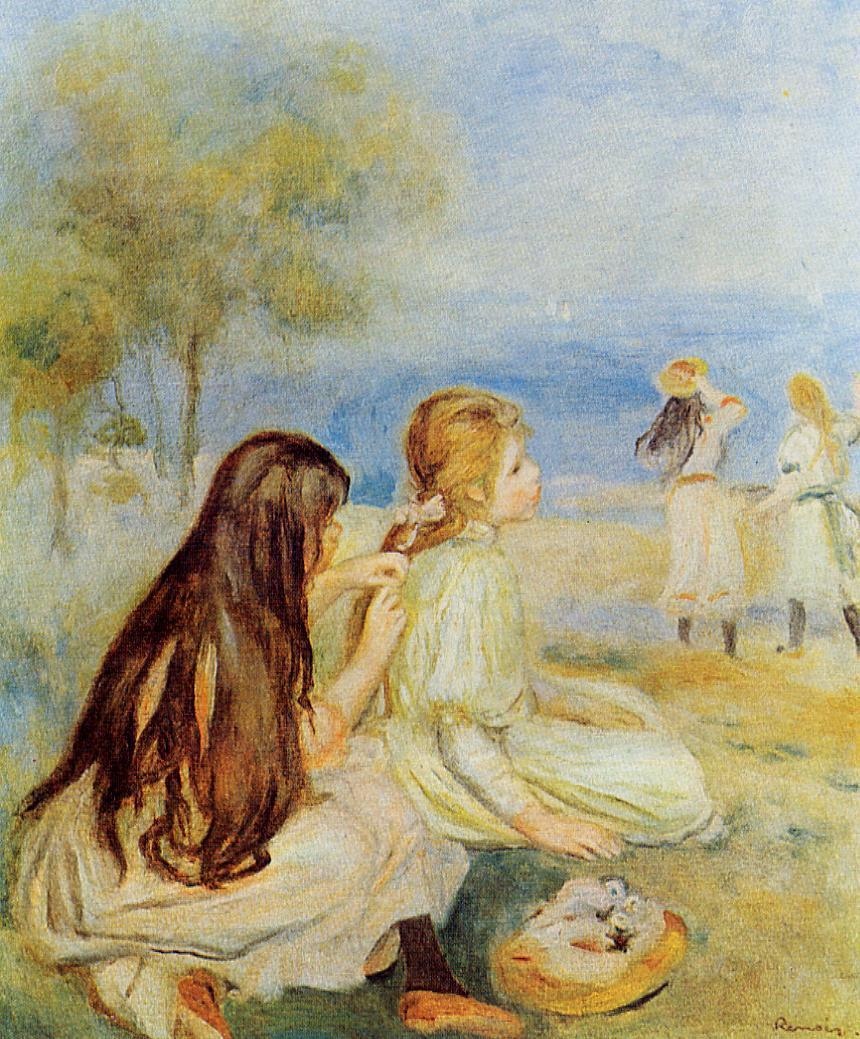 the life and early works of pierre auguste renoir Pierre-auguste renoir  son of pierre renoir's paintings are notable for their a fine example of renoir's early work and evidence of the.