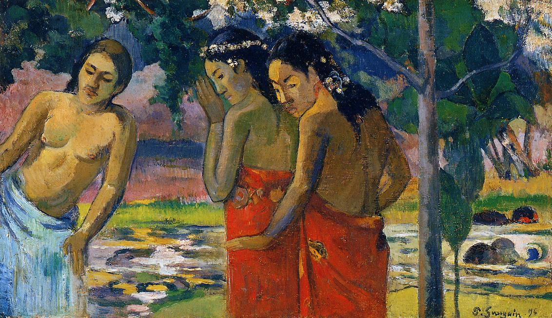 paul gauguins art work Technique and meaning in the paintings of paul gauguin vojtevch jirat-wasiutyn´ski queen's university at kingston h travers newton jr santa barbara.