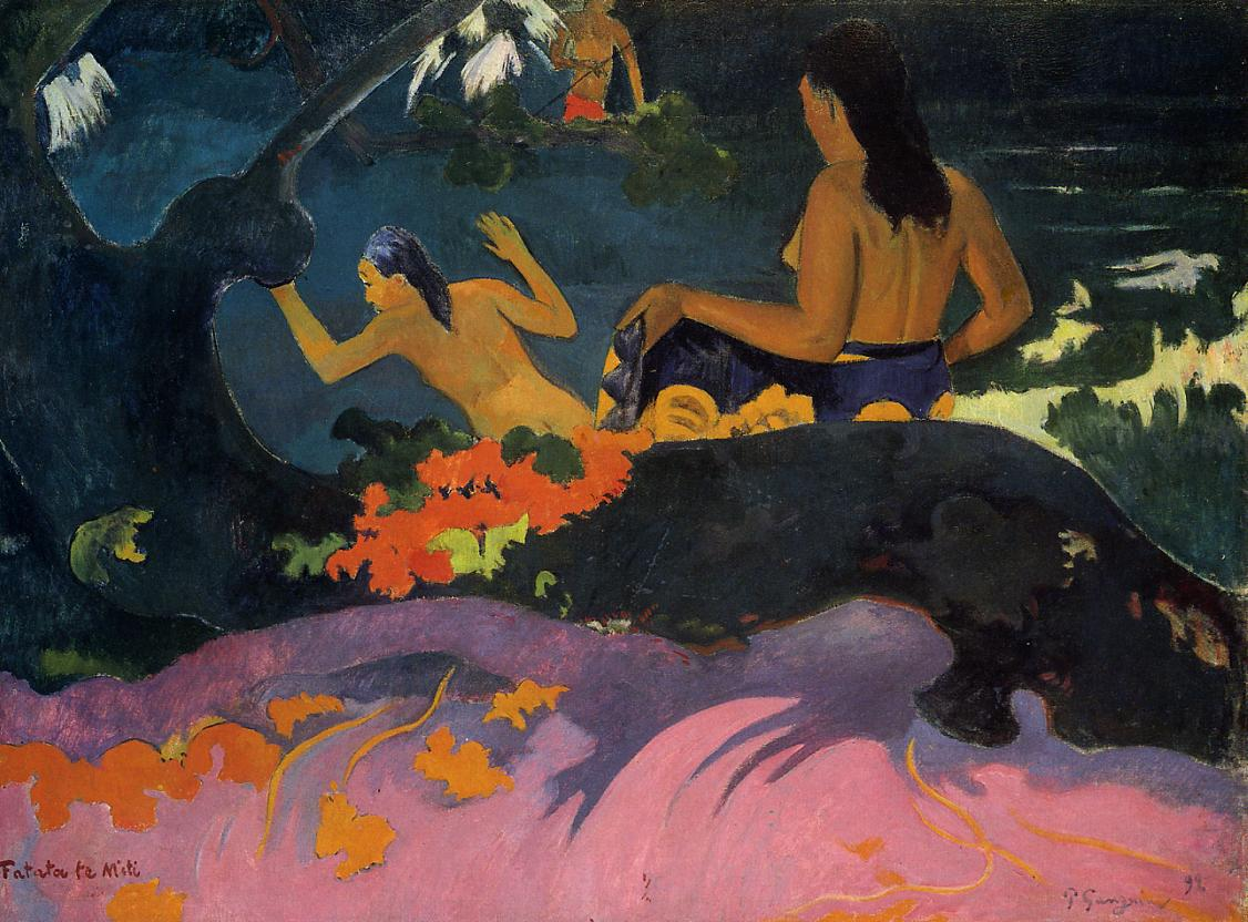 a comparison of paul gauguins post impressionism and pablo picassos expressionism Such as pablo picasso and henri matisse gauguin's gauguin, paul the letters of paul gauguin to history of post-impressionism: from van gogh to gauguin.