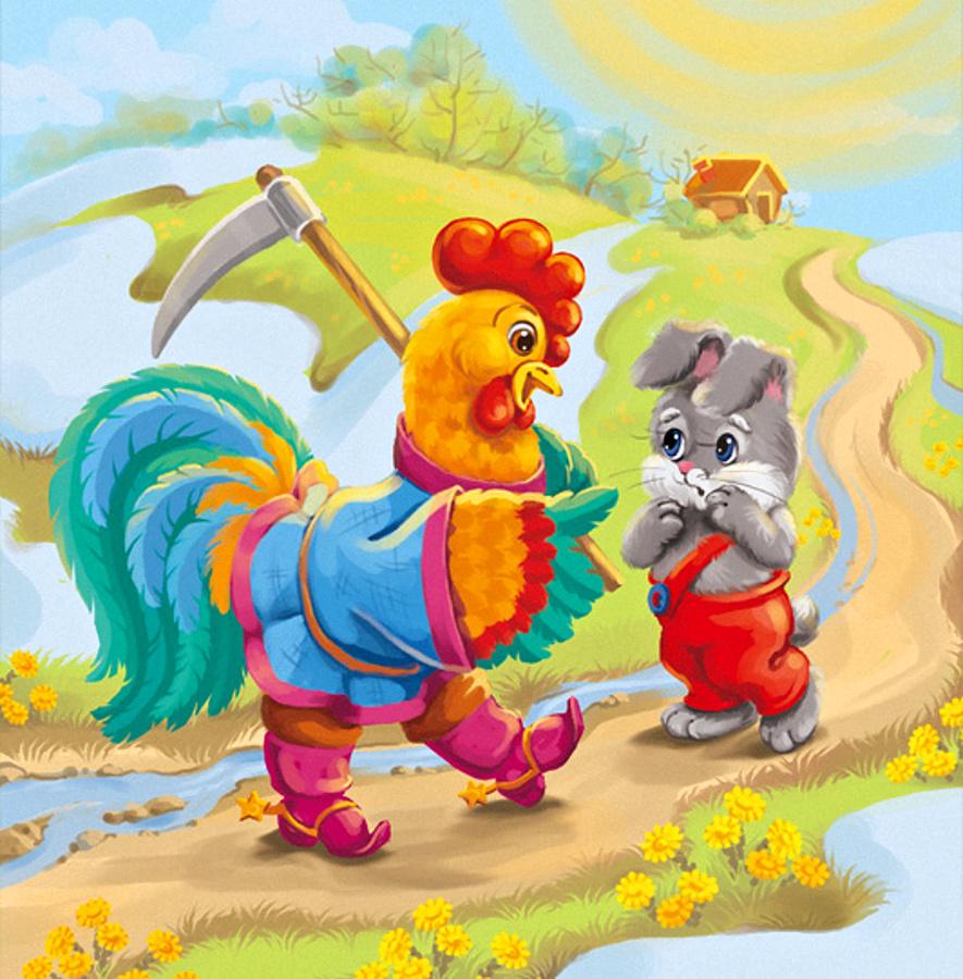 Русские народные сказки картинки для малышей