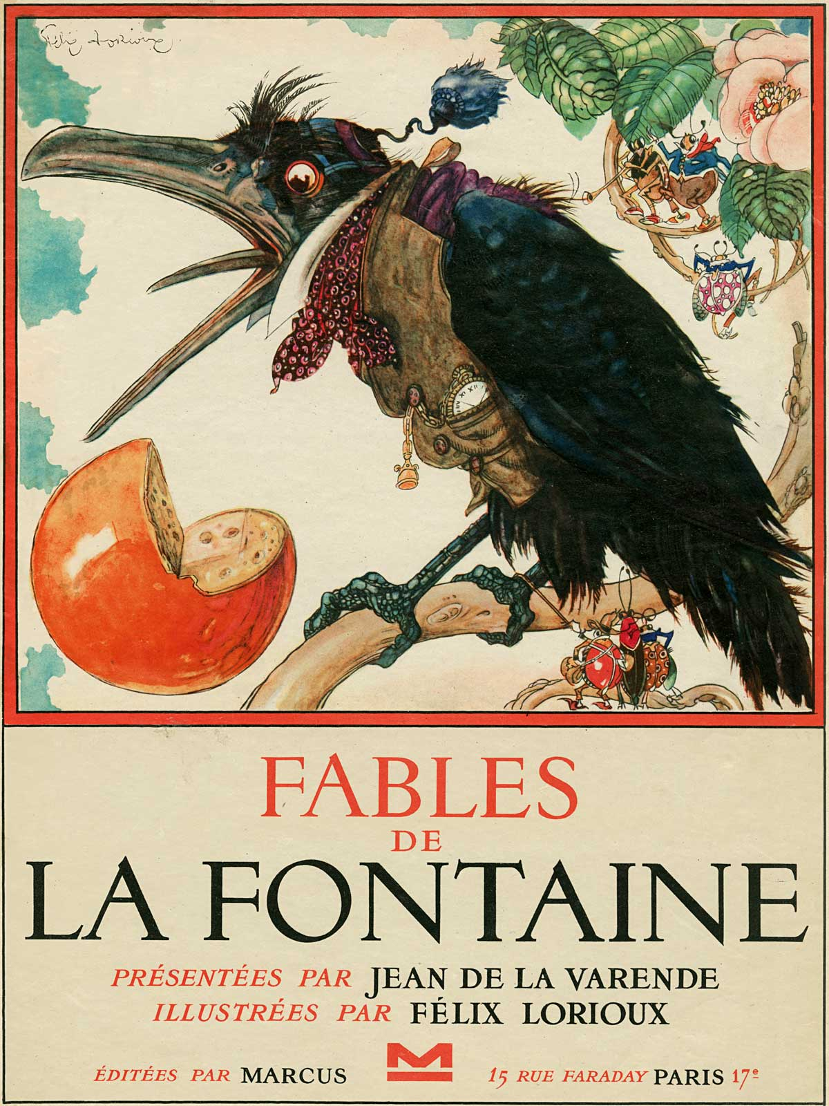 the work of la fontaine