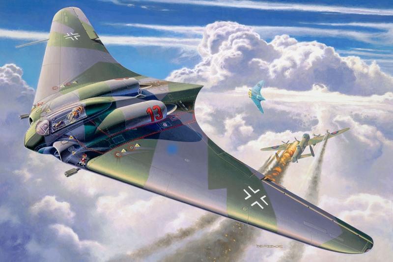 """самолет - """"летающее крыло"""""""