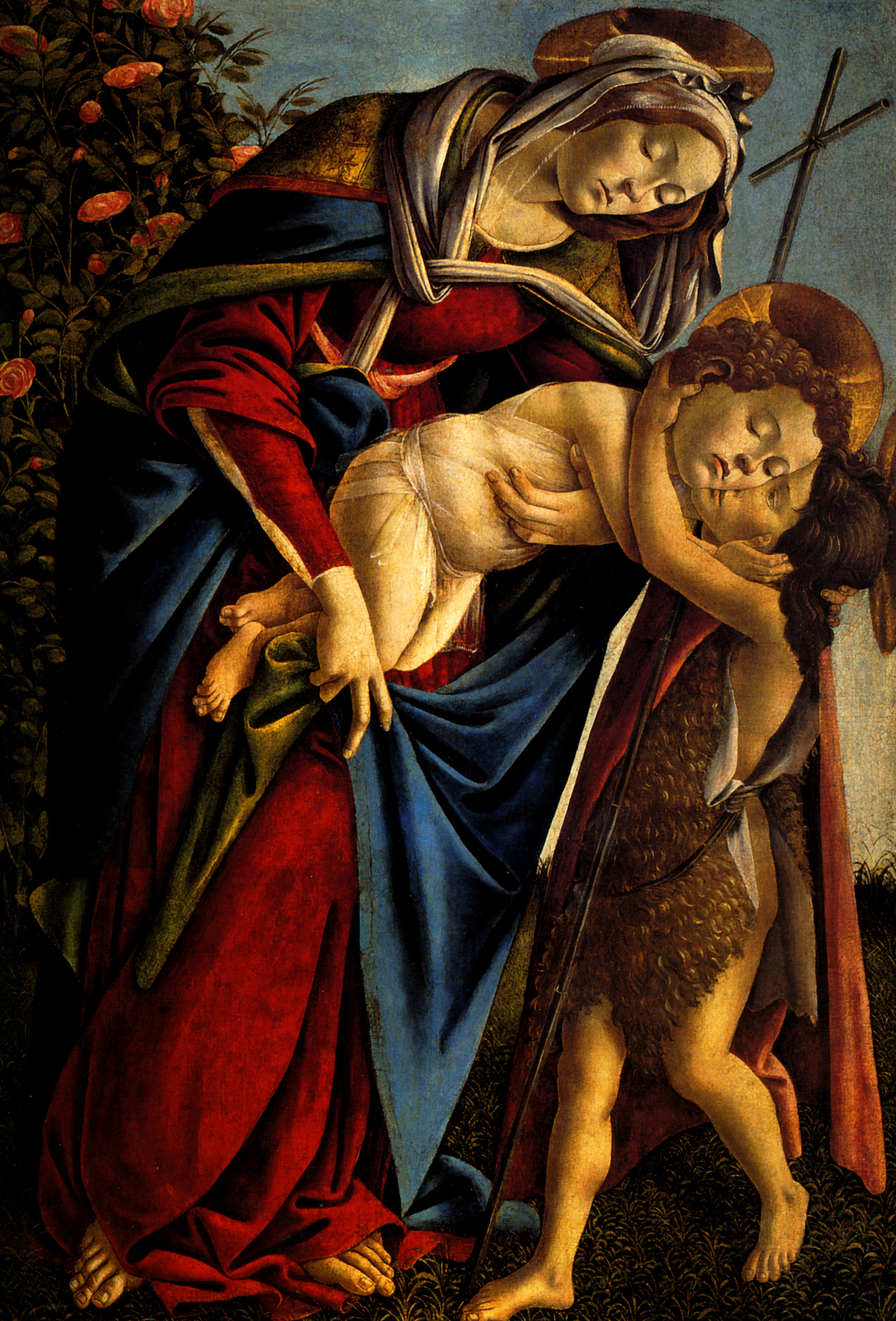 an essay on the artists and artworks of sandro boticelli and polykleitos