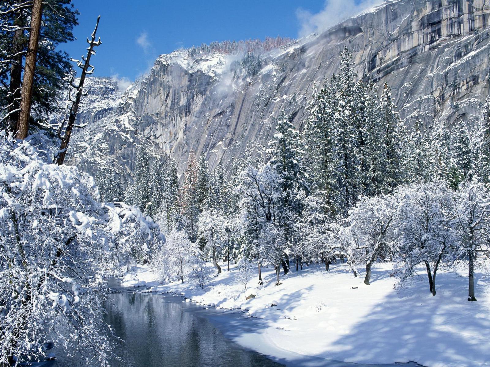 Фото красивые природа зима
