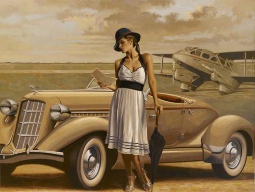Перегрин Хиткот - Женщины и путешествия (52 работ)